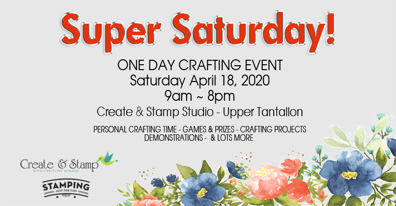 Super Saturday Banner April