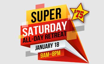 Super Saturday button