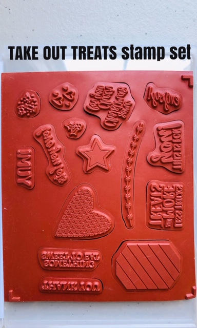 Take out Treats stamps