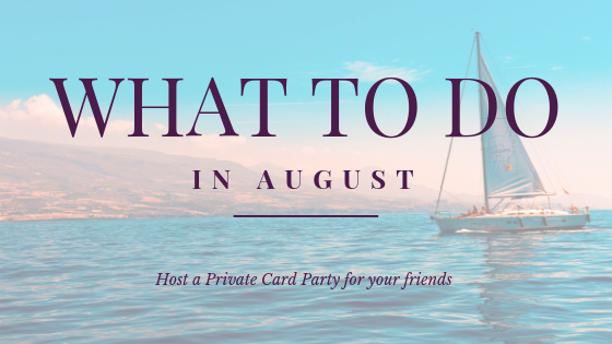 Private Card party Aug